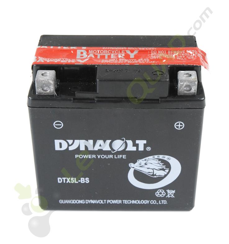 Batterie TASHIMA YTX5L-BS de Quad 110