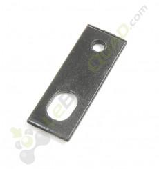 Patte support de protège chaine plastique supérieur de Quad 110 et quad 125