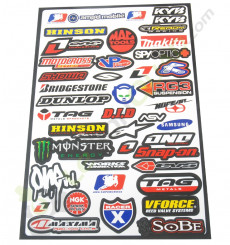 Stickers autocollants MARQUES MOTO