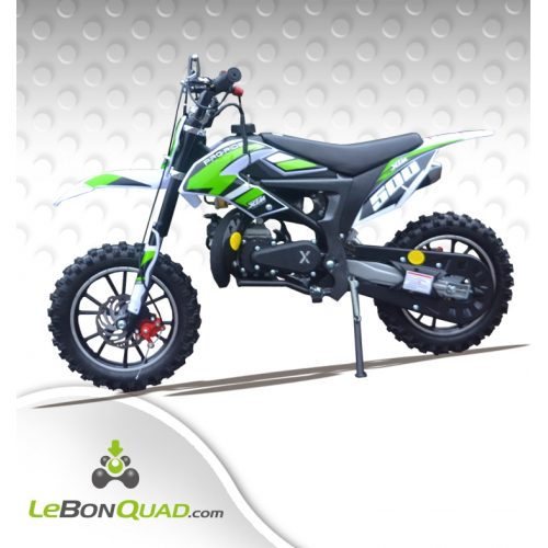 Pocket cross LBQ XTM500 49cc VERT - Quad enfant