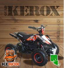 Quad pocket électrique KEROX E-Rex ROUGE
