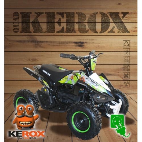 Quad pocket électrique KEROX E-Rex VERT
