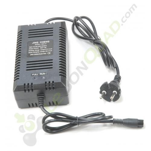 Chargeur de batterie 24V de pocket électrique - Quad enfant