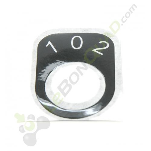 Sticker pour contacteur à clef 3 vitesses de quad pocket électrique E-Rex - Quad enfant