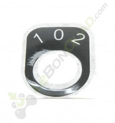 Sticker pour contacteur à clef 3 vitesses de quad pocket électrique