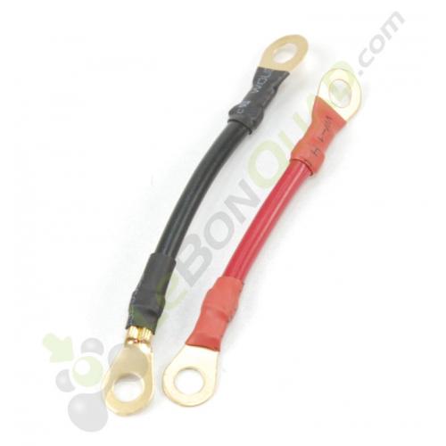 Faisceau inverseur rouge 75mm noir 85mm de quad électrique - Quad enfant