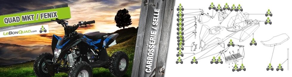 Carrosserie / Selle / Réservoir - Quad enfant