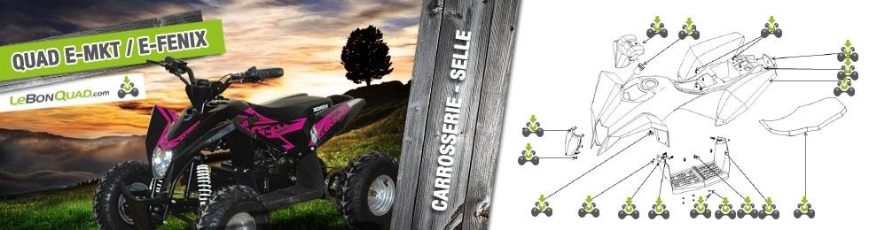 Carrosserie / Selle - Quad enfant