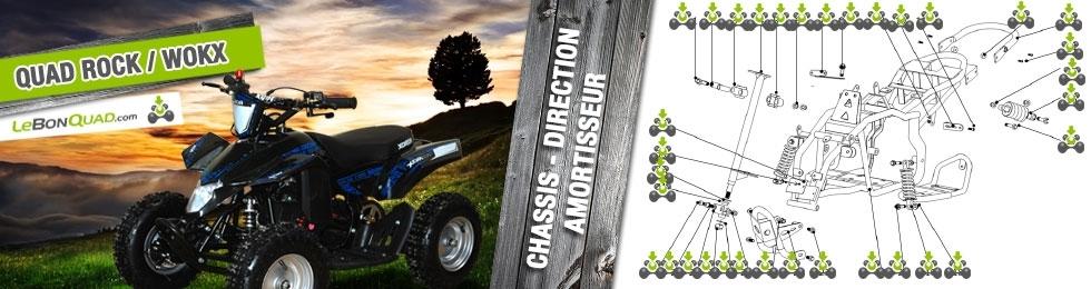 Chassis / Direction / Amortisseur - Quad enfant