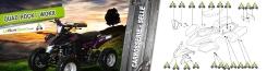 Quad Rock 49cc : Carosserie / Selle