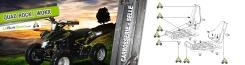 Quad Rock 49cc : Carosserie / Selle 2