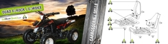 Quad E-Rock : Carrosserie / Selle 2